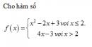 Câu 33 trang 159 SGK Đại số và Giải tích 11 Nâng cao
