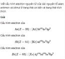 Câu 1 trang 36 SGK Hóa học 11 Nâng cao