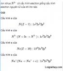 Câu 1 trang 40 SGK Hóa học 11 Nâng cao