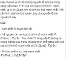 Bài 5 SGK trang 112 hoá học 12 nâng cao