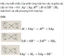 Bài 6 SGK  trang 122 hoá học 12 nâng cao