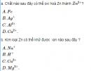 Bài 2 SGK  trang 125 hoá học 12 nâng cao