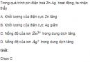 Bài 3 SGK  trang 125 hoá học 12 nâng cao
