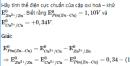 Bài 8 SGK  trang 126 hoá học 12 nâng cao