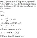 Bài 4 trang 157 SGK Hóa học lớp 12 nâng cao