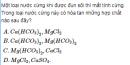 Bài 4 trang 167 SGK Hóa học lớp 12 nâng cao
