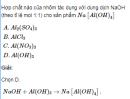 Bài 1 trang  180 SGK Hóa học lớp 12 nâng cao