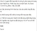 Bài 6 trang 181 SGK Hóa học lớp 12 nâng cao