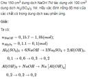 Bài 7 trang 181 SGK Hóa học lớp 12 nâng cao