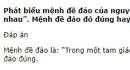 Câu 6 trang 12 SGK Đại số 10 Nâng cao