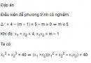 Bài 18 trang 78 SGK Đại số 10 nâng cao