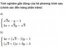 Bài 37 trang 97 SGK Đại số 10 nâng cao