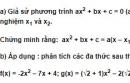 Bài 9 trang 78 SGK Đại số 10 nâng cao
