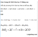 Câu 2 trang 92 SGK Hóa học 11 Nâng cao