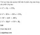 Câu 3 trang 82 SGK Hóa học 11 Nâng cao
