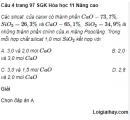 Câu 4 trang 97 SGK Hóa học 11 Nâng cao