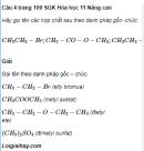 Câu 4 trang 109 SGK Hóa học 11 Nâng cao