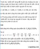 Câu 5 trang 121 SGK Hóa học 11 Nâng cao