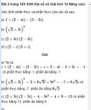 Bài 2 trang 189 SGK Đại số và Giải tích 12 Nâng cao)