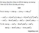 Bài 32 trang 207 SGK  giải tích 12 nâng cao