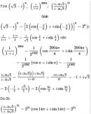 Bài 33 trang 207 SGK  giải tích 12 nâng cao