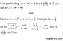Bài 38 trang 209 SGK  giải tích 12 nâng cao