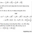 Bài 41 trang 209 SGK  giải tích 12 nâng cao
