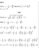 Bài 5 trang 190 SGK Đại số và Giải tích 12 Nâng cao