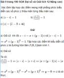 Bài 9 trang 190 SGK Đại số và Giải tích 12 Nâng cao