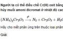 Bài 3 trang 194 SGK hóa học 12 nâng cao