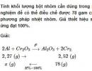 Bài 4 trang 190 SGK hóa học 12 nâng cao