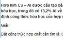 Bài 6 trang 213 SGK hóa học 12 nâng cao
