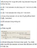 Câu 3 trang 147 SGK Hóa học 11 Nâng cao