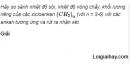 Câu 3 trang 153 SGK Hóa học 11 Nâng cao
