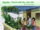 Tập làm văn: Trả bài văn tả cảnh trang 109 SGK Tiếng Việt 5 tập 1