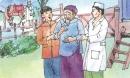 Tập đọc: Thầy cúng đi viện trang 158 SGK Tiếng Việt 5 tập 1