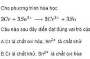 Bài 1 trang 222 SGK hóa học 12 nâng cao