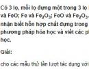 Bài 7 trang 223 SGK hóa học 12 nâng cao