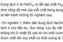 Bài 9 trang 223 SGK hóa học 12 nâng cao