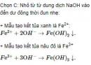 Bài 1 trang 250 sách giáo khoa hóa học 12 nâng cao