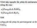 Bài 2 trang 247 sách giáo khoa hóa học 12 nâng cao