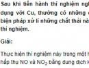Bài 4 trang 273 SGK hóa học 12 nâng cao