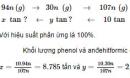 Bài 7 Trang 259 SGK hóa học 12 nâng cao