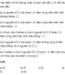Câu 3 trang 169 SGK Hóa học 11 Nâng cao