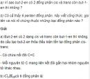 Câu 5 trang 158 SGK Hóa học 11 Nâng cao