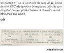 Câu 5 trang 164 SGK Hóa học 11 Nâng cao