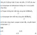 Câu 7 trang 153 SGK Hóa học 11 Nâng cao
