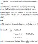 Câu 7* trang 164 SGK Hóa học 11 Nâng cao