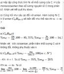 Câu 8* trang 153 SGK Hóa học 11 Nâng cao
