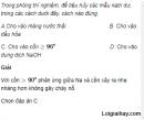 Câu 1 trang 228 SGK Hóa học 11 Nâng cao